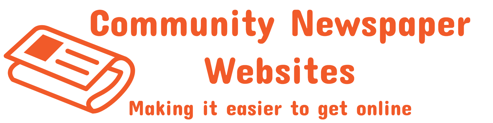 Websites for Community Newspapers full logo